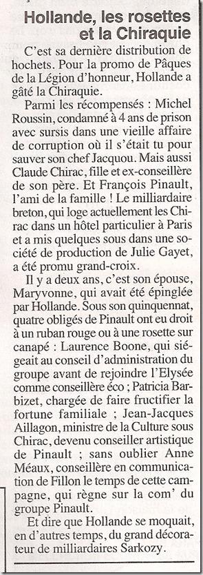 Hollande et la chiraquie